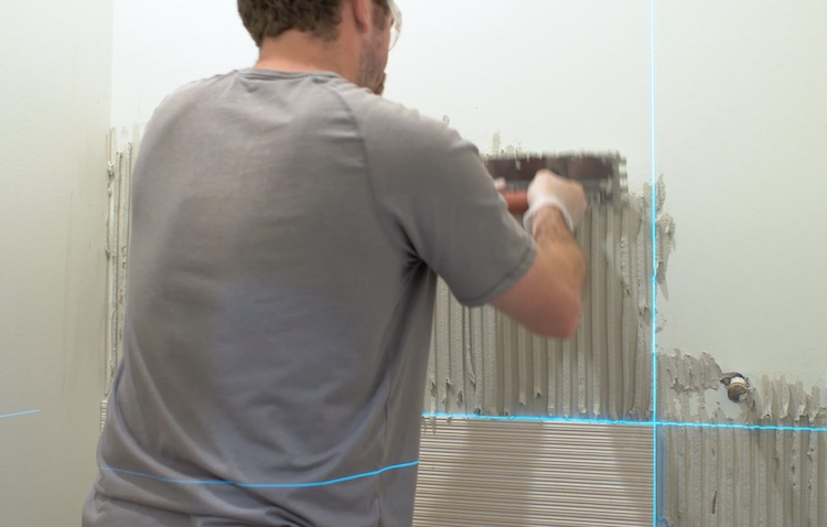 How to Install Large Format Wall Tile 7