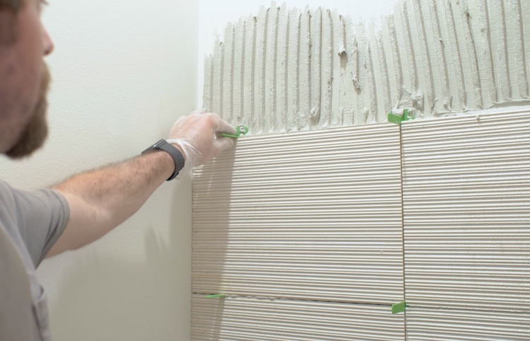 How to Install Large Format Wall Tile 8