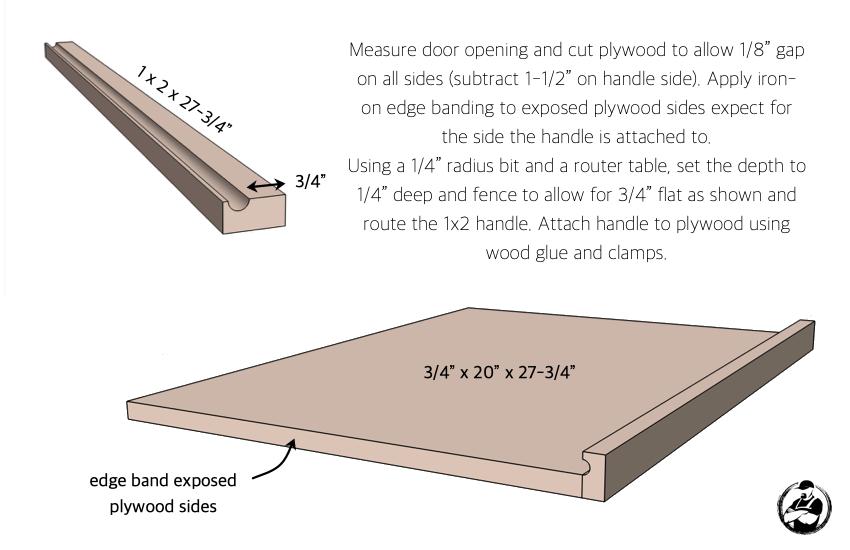 DIY 24in Vanity Plans Step 6