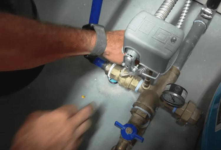 DIY UV Light Filtration Installation Step 3