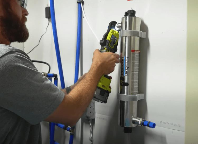 DIY UV Light Filtration Installation Step 6
