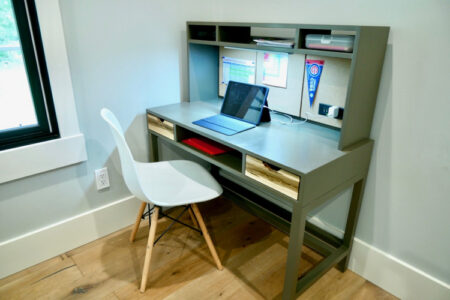 DIY Kids Desk with Hutch Plans Rogue Engineer 2