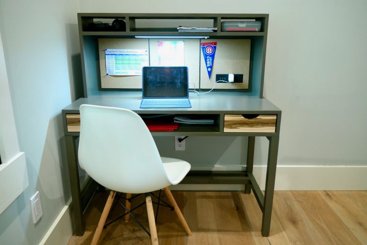 DIY Kids Desk with Hutch Plans Rogue Engineer 3
