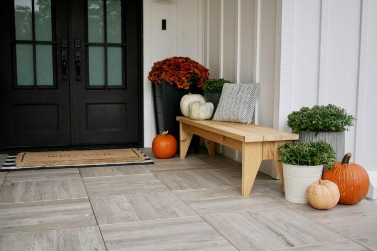 DIY Outdoor Bench Plans Rogue Engineer 1