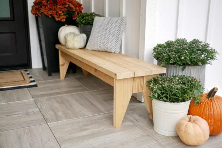 DIY Outdoor Bench Plans Rogue Engineer 3
