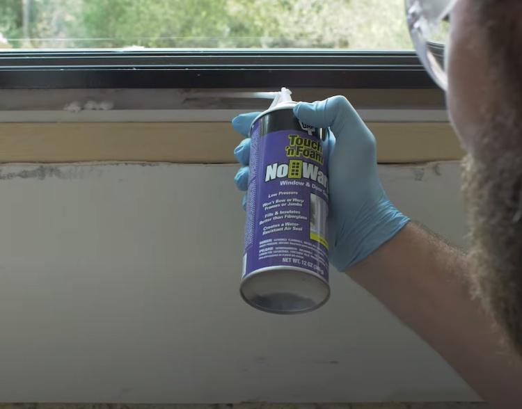 Installing a Window 4