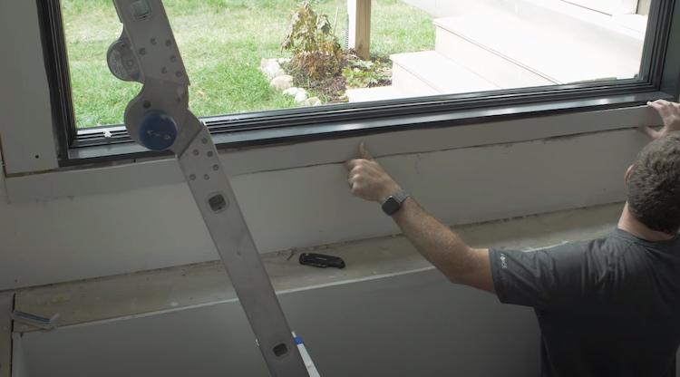 Installing a Window 6