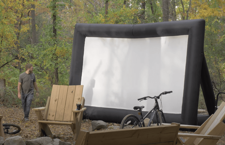 Remote Outdoor Theater Setup 8