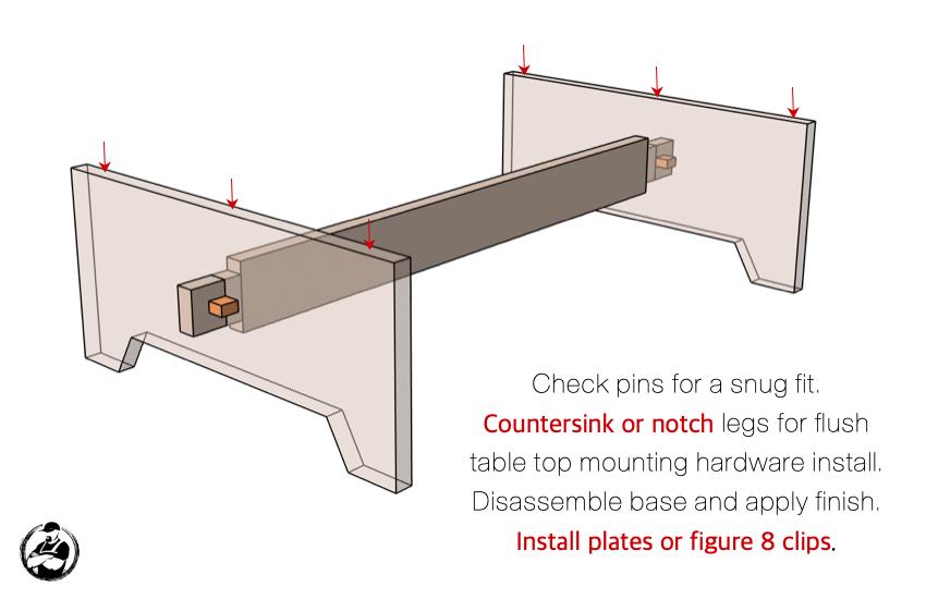 DIY Large Coffee Table Plans Step 6
