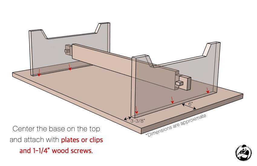 DIY Large Coffee Table Plans Step 7