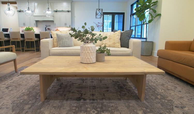 Large DIY Coffee Table Plans Rogue Engineer 1