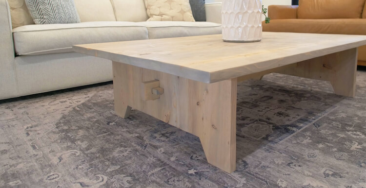Large DIY Coffee Table Plans Rogue Engineer 3