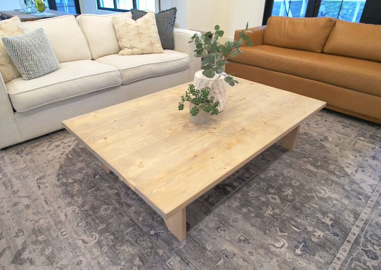 Large DIY Coffee Table Plans Rogue Engineer 4