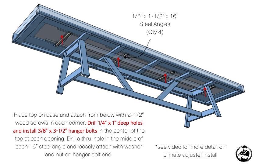 DIY Shuffleboard Table Plans Step 7