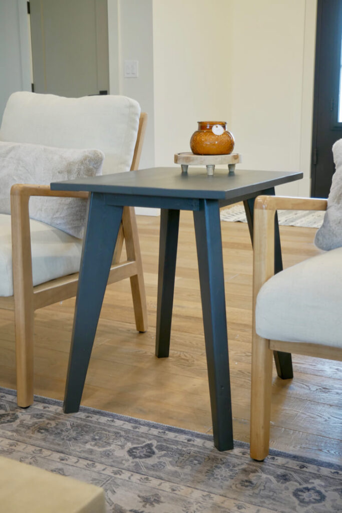 Tapered Leg Side Table Rogue Engineer 2