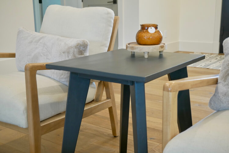 Tapered Leg Side Table Rogue Engineer 3