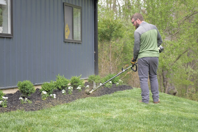 New Garden Beds and Edging Step 18