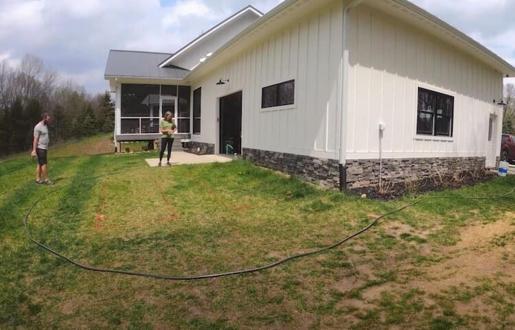 Raised Garden with Irrigation Step 1