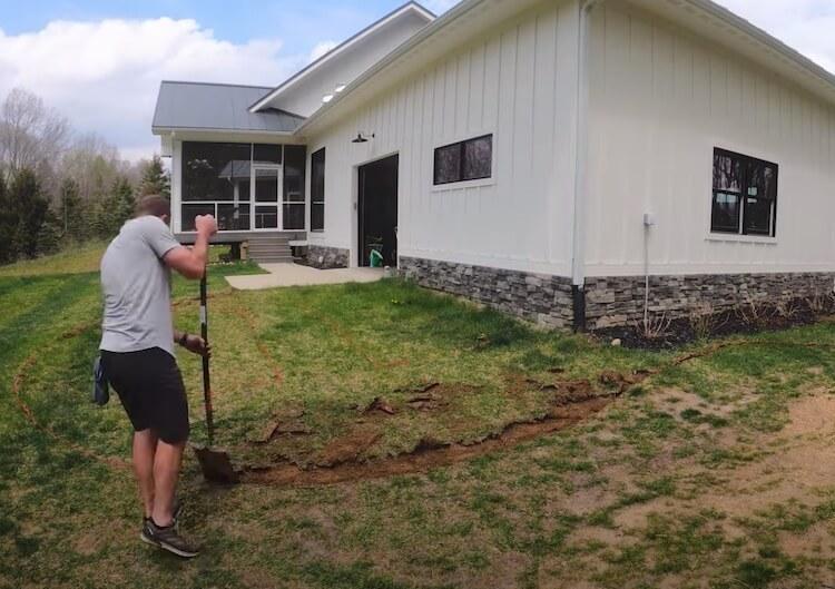 Raised Garden with Irrigation Step 2