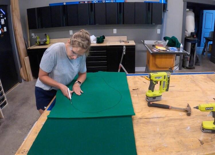 DIY Backyard Golf Game Step 3