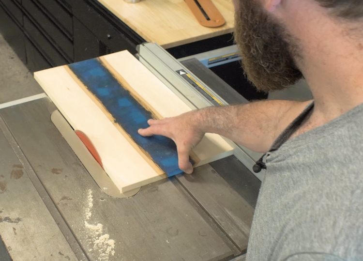 Epoxy River Serving Tray Step 15