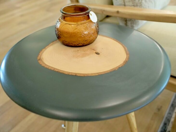 Epoxy and Live Edge Side Table Rogue Engineer 2
