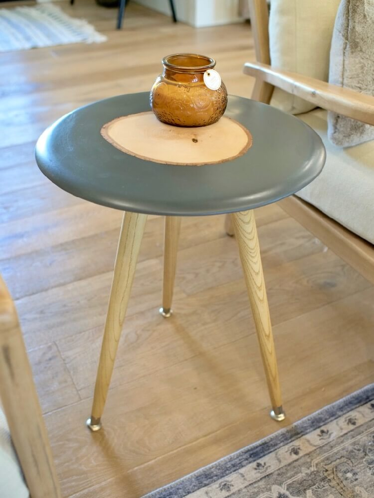 Epoxy and Live Edge Side Table Rogue Engineer 3