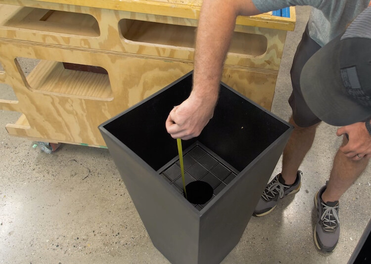 Converting a Planter to Self Watering Step 4