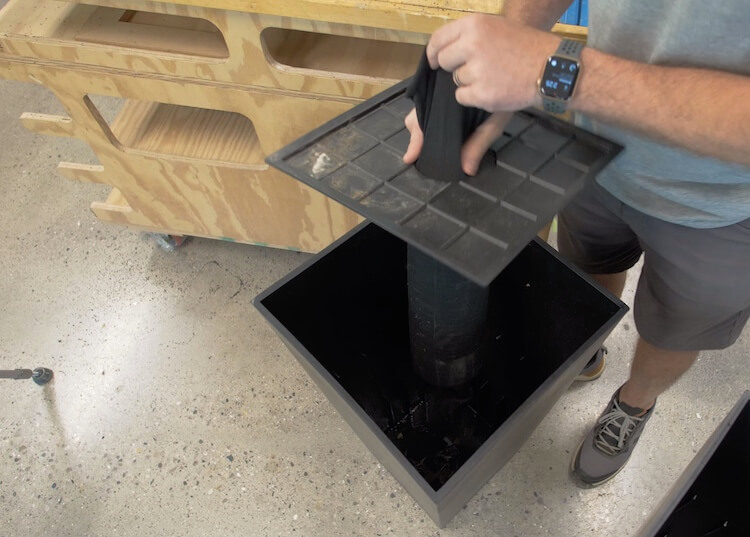 Converting a Planter to Self Watering Step 8