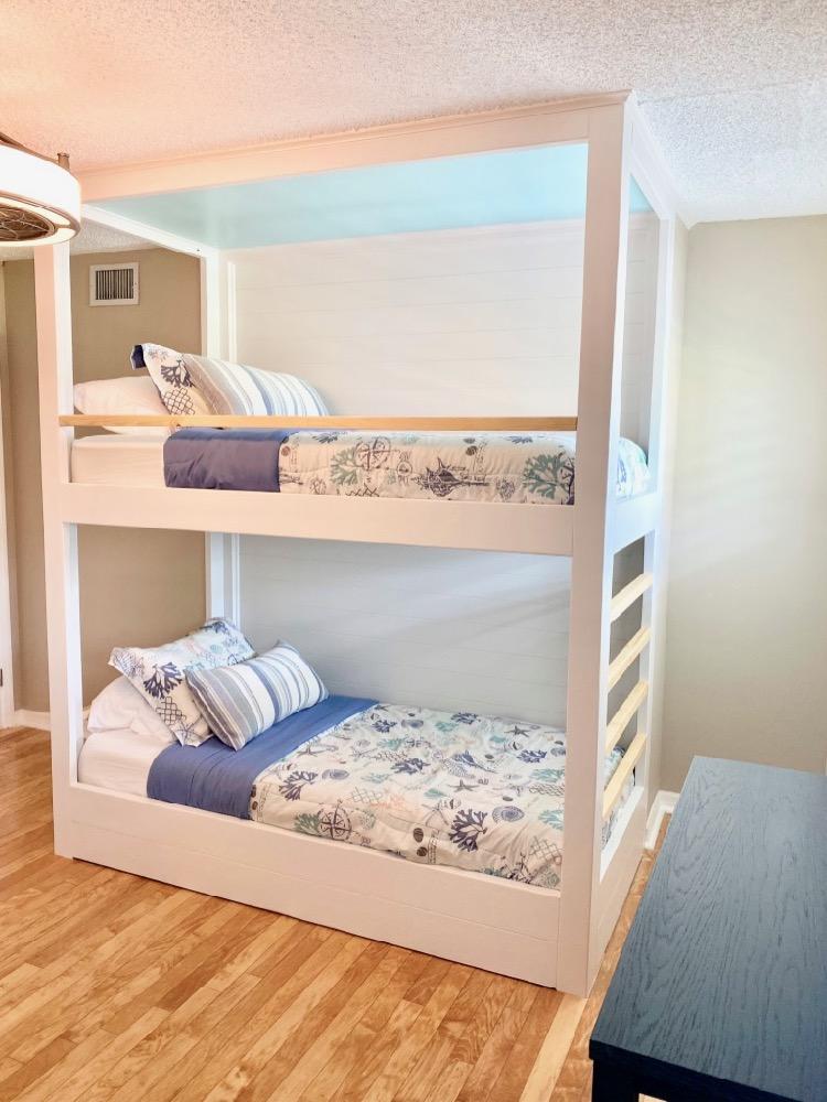 DIY Built In Twin Bunk Bed Rogue Engineer 1