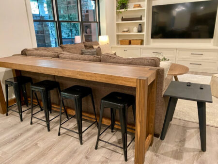 DIY Bar Console Table Plans Rogue Engineer 3