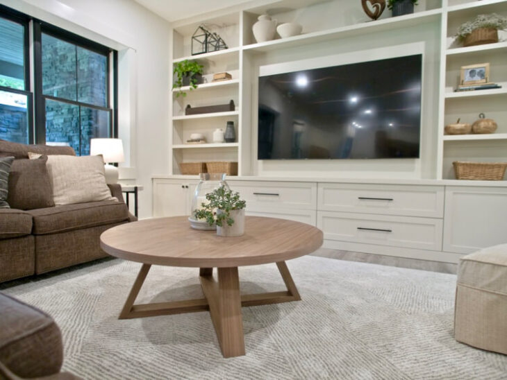 DIY Round Coffee Table Plans Rogue Engineer 1