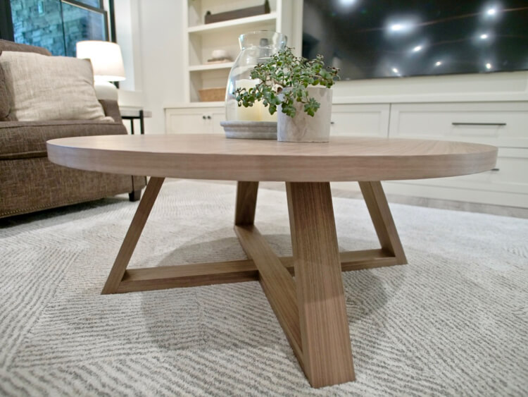DIY Round Coffee Table Plans Rogue Engineer 2 1