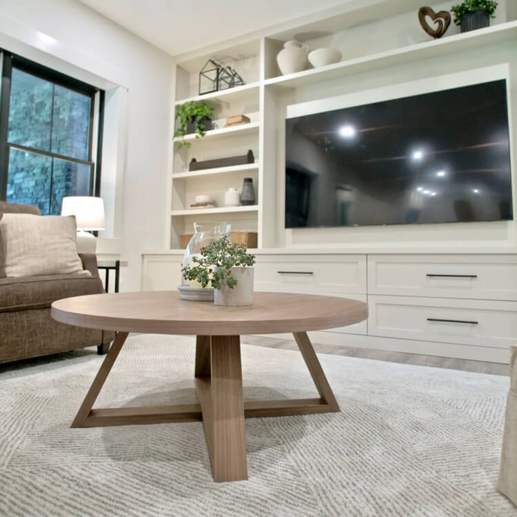 DIY Round Coffee Table Plans Rogue Engineer 3