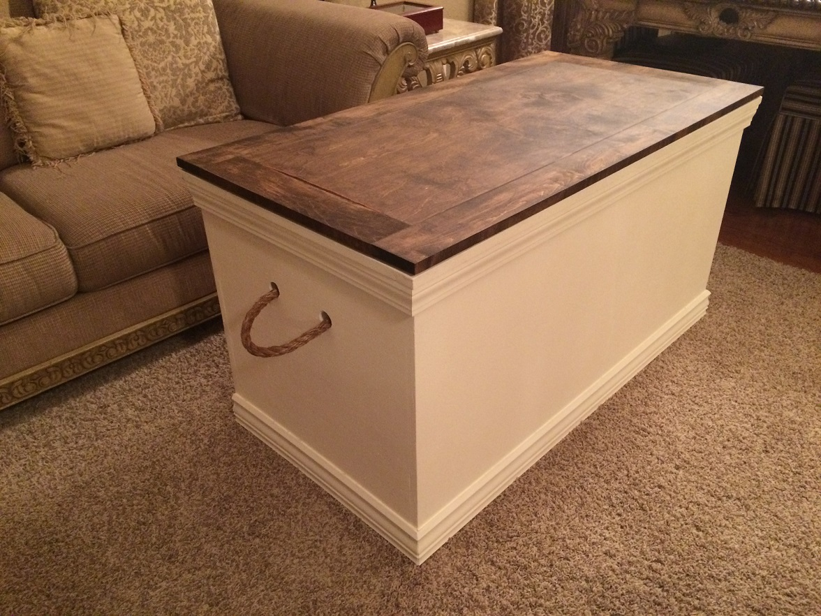Hope Chest Plans ~ Clever idea james it looks great