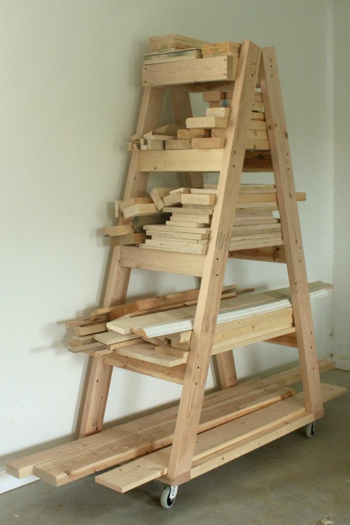 Scrap Lumber Rack